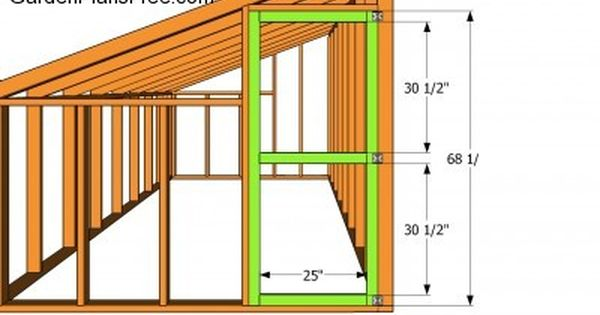 lean to greenhouse plans free garden plans how to