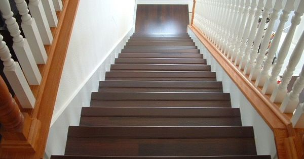 Installing Laminate Flooring on Stairs, diy stairs : home improvements : Pinterest : Installing ...