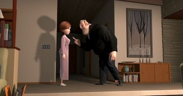 The Home Of Bob And Helen Parr In The Incredibles Is One Of The Finest Examples Of Mid Century