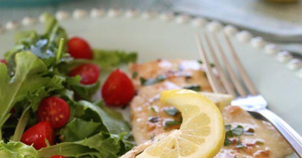 Chicken Francese – Lightened Up | Lemon sauce
