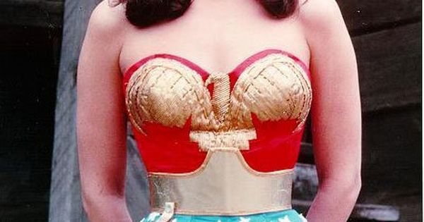 Wonder Woman! Real woman with real hips