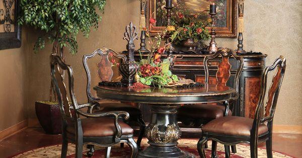Grandover Round Dining Set Hemispheres A World Of Fine Furnishings