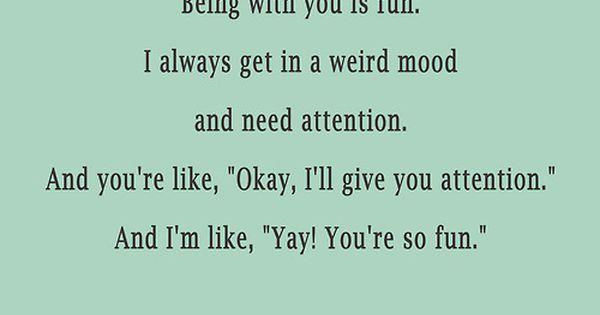 Haha totally me