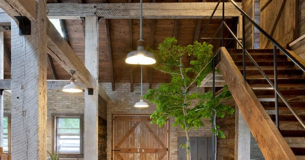 Green and natural A Modern Reinterpretation of a Historical Rural House in