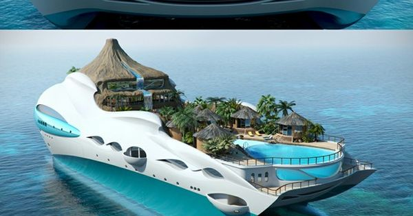 Yacht Island (paradise, palm trees, sun & sea)... Is this real life?!