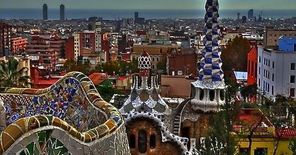 Park Güell in Barcelona, Spain. My absolute favorite place in the world.