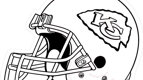 kc chiefs coloring pages - photo#21