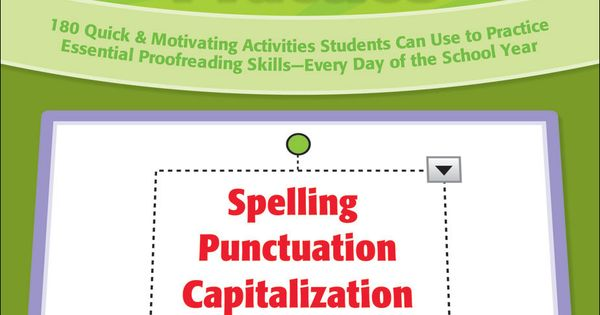 Eduplace power proofreading