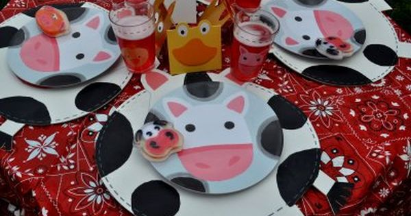 Farm Birthday Party birthday kids