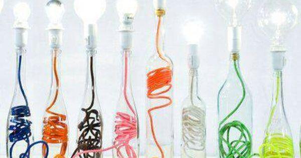 lampe tendance fil électrique en couleur obligatoire Lampes - Couleur Des Fils Electrique