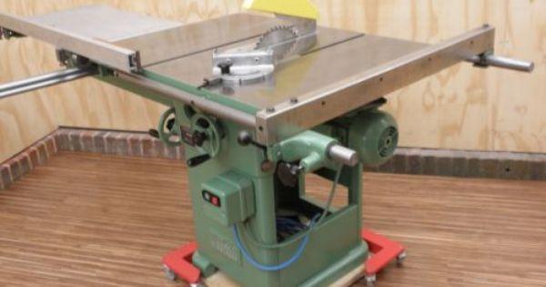 Wadkin 10 Ags Table Saw 240 Volt Bancada De Trabalho Serra Circular Ferramentas