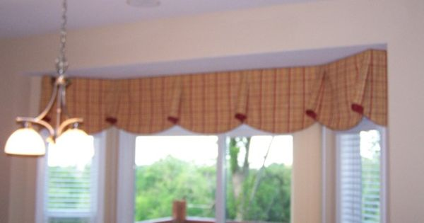 Valances For Bay Windows Kingston Arched Valance 66