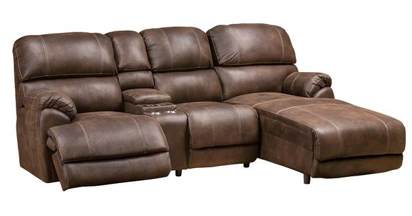 This Reclining Sofa With Massage Cup Holders Reading