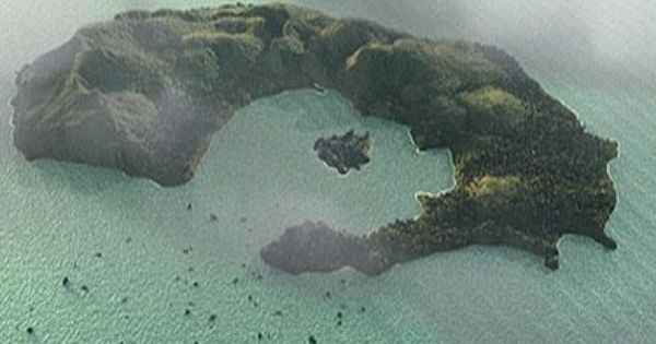 The Island Of Thera In The Aegean Sea From A Pbs Documentary