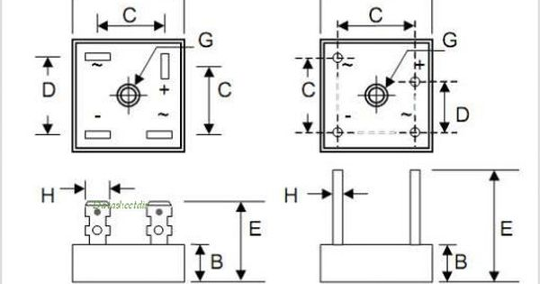 kbpc5010 bridge rectifier wiring diagram further pont de