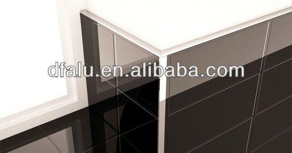 L Shape Gold Tile Edge Trim ampaluminum Straight