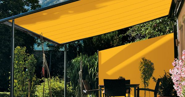 Pergola With Side Awning Beach Housse