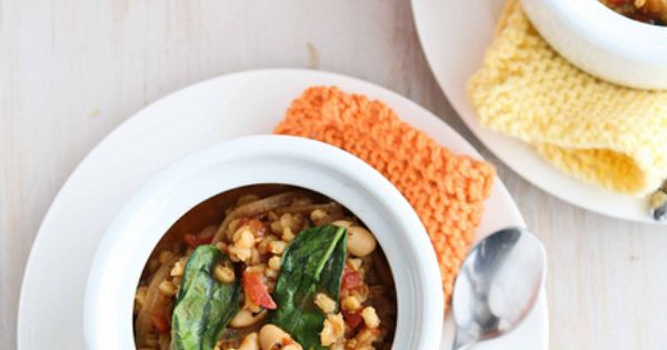 Stew, White beans and Spinach on Pinterest