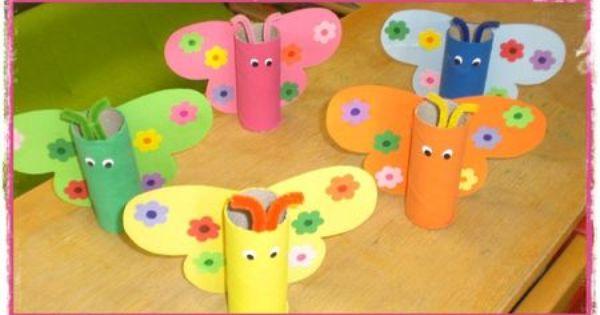 pots crayons en rouleaux de papier toilette enfants pinterest rouleaux de papier. Black Bedroom Furniture Sets. Home Design Ideas