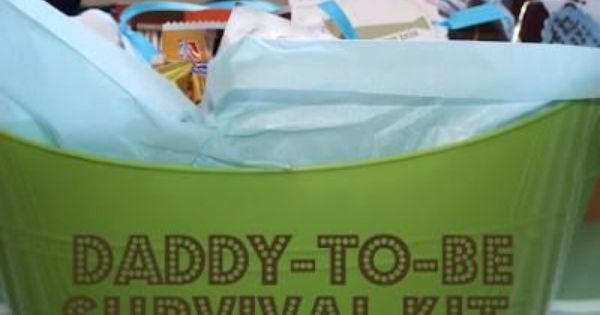 New Daddy Survival Kit! With a new baby on the way, mom