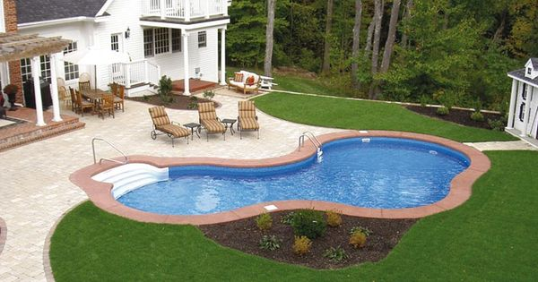 Small backyard inground pools small mini the catalogs - Small above ground swimming pools ...