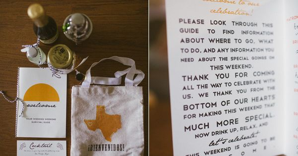 ... for welcome bags For the wedding Pinterest Bags and Welcome bags