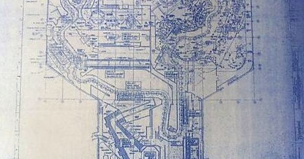 Disneyland haunted mansion ride plan blueprint by for Haunted mansion blueprints