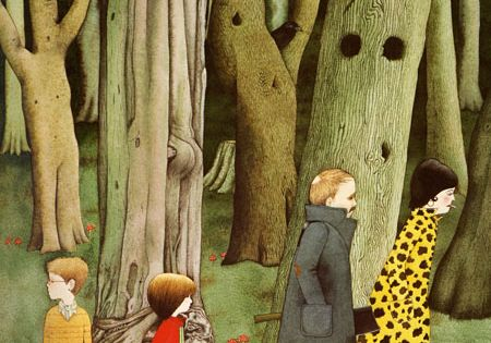 From Hansel and Gretel, illustrated by Anthony Browne, nurseries art