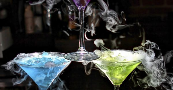 Smoking Martinis..gotta learn how to mix drinks