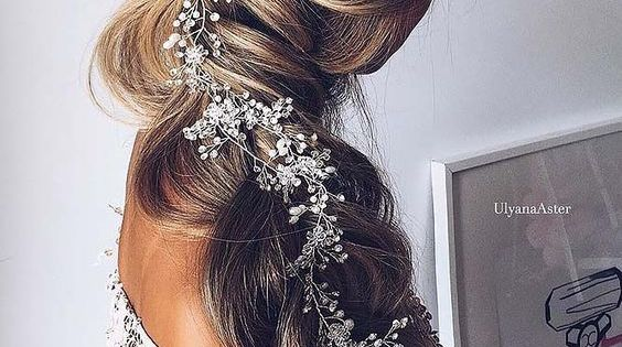 30 Beautiful Wedding Hairstyles: 30 ROMANTIC WEDDING HAIRSTYLES FOR LONG HAIR