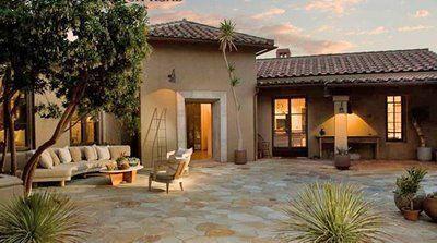 Casas de campo estilo colonial mexicano buscar con google jardines pinterest patios - Patios con estilo ...