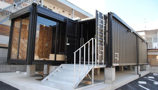 container haus konteyn rlar pinterest container. Black Bedroom Furniture Sets. Home Design Ideas