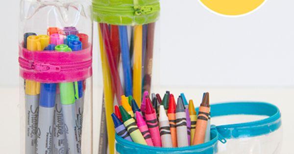 31 Creative Ways to Reuse Plastic Bottles | Diy pencil case, Soda bottles and Fun diy