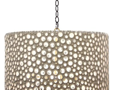 Oly Studio Meri Drum Shade - eclectic - lamp shades - Candelabra
