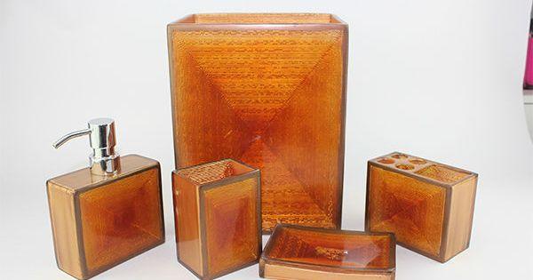 Burnt Orange Bathroom Accessories Home Orange Crush Pinterest