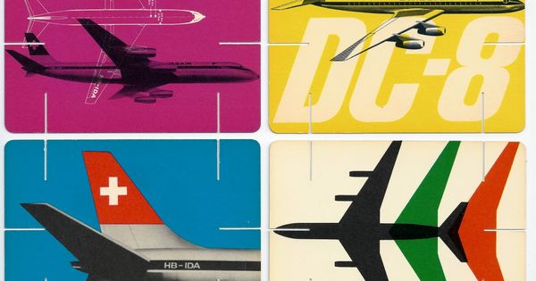 Colorful Swiss Air poster. creative design poster color