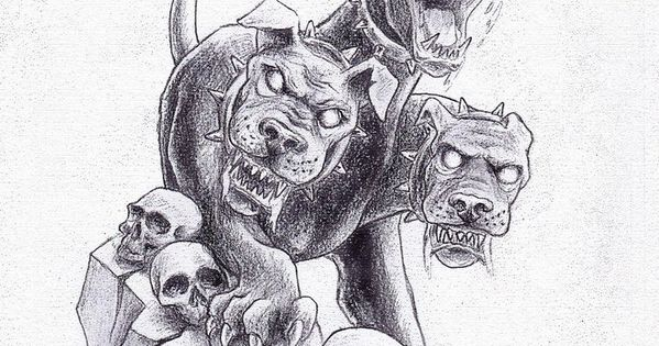 Cerberus Greek Mythology Line Art Bing Images Coloring