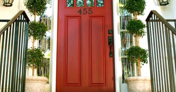 Behr Red Pepper   Door   Pinterest   Behr, Red peppers and Red