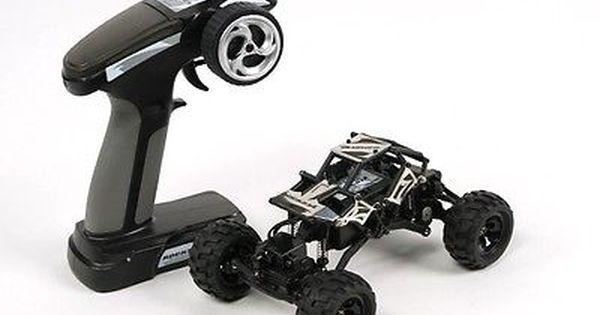 RC Car Basher RockSta 1//24 4WS Mini Rock Crawler with Metal Gears Ready to Run