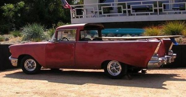1957 Chevrolet El Camino Project Hotrod Ratrod 2 Door Surf Station