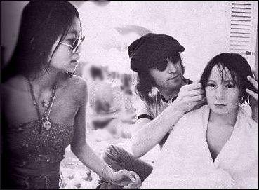 May Pang And John Lennon John Lennon Lennon Sean Lennon
