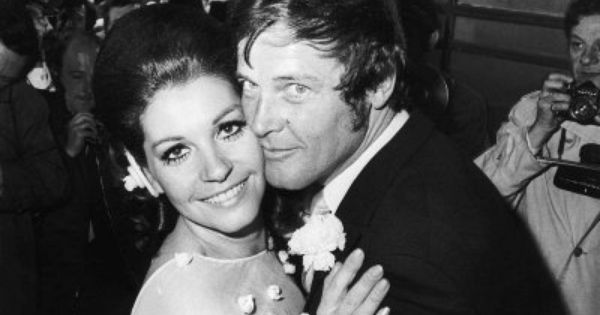 Image result for Luisa mattioli and roger moore  pic
