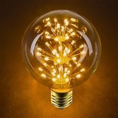 Led Fireworks Bulb G30 Decorative Fireworks Led Bulb 25w Equivalent Dimmable 125 Lumens