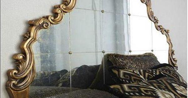 Inspiraci n de fin de semana espejos antiguos como - Cabeceros antiguos restaurados ...