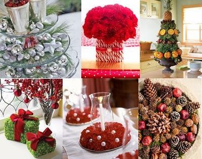 Decorar la mesa del comedor para navidad dinning christmas for Decoracion del hogar navidena