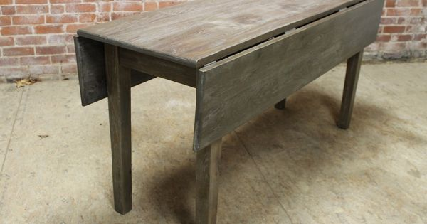 Drop Leaf Tables Built To Order From Reclaimed Wood Drop