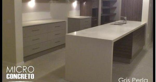 Mesada en hormigon y microcemento cemento alisado - Comprar microcemento online ...