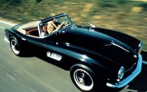 The BMW 507 was at least 50 years ahead of its time