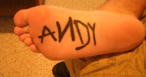 """Andy"" Disney Tattoo - kinda funny!"
