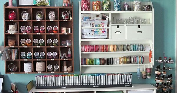 Craft Room Organizing Ideas♥